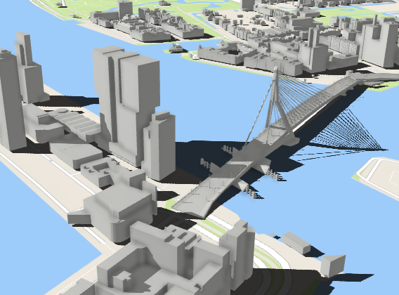 Arcgis 3d Model Rotterdam Prof Dr Ing Volker Coors
