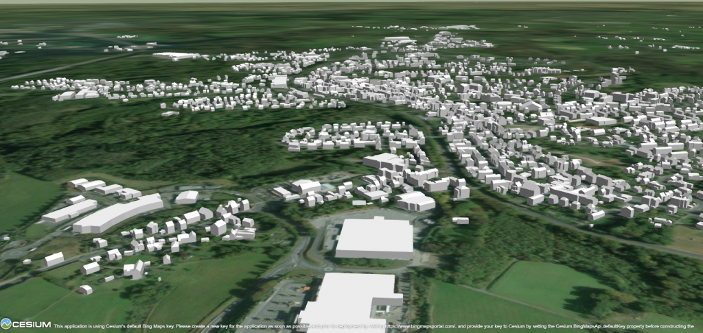 Visualisierung 3D-Gebäudemodell Wermelskirchen